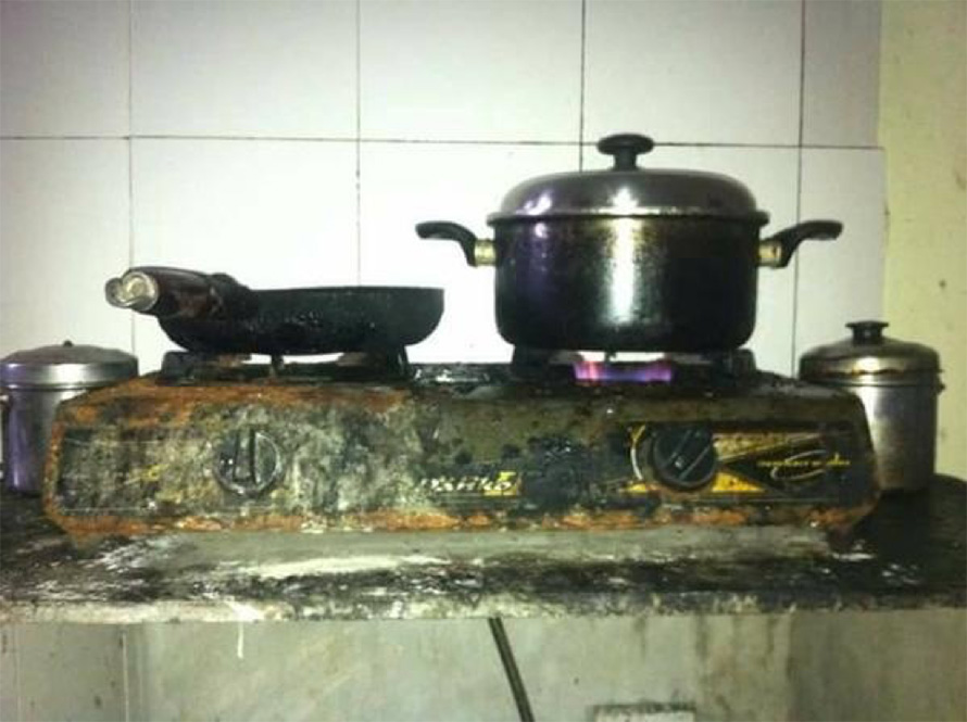 Mistakes about gas cookers can explode your home