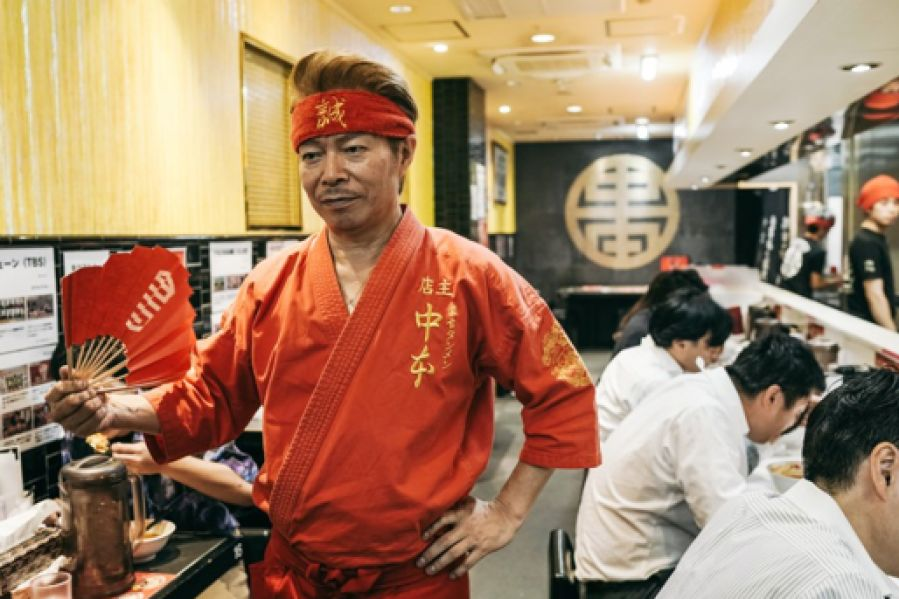 The most spicy noodles in Tokyo make diners eat and cry