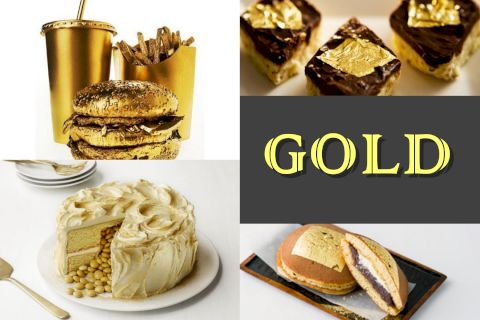 The dishes prepared from GOLD are reserved for world giants