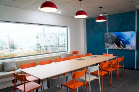 Serepok inaugurated a coworking space, a coworking space model for whom?