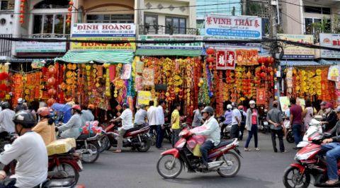 'Lạ mắt' với những món bánh Tết người Hoa tại Việt Nam độc đáo